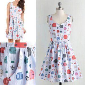 NWT Modcloth Air Of Adorable Balloon Dress